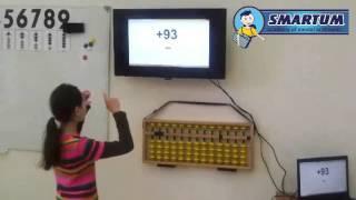 Уроки ментальной арифметики ✮ Smartum ✮ Настя считает двузначные числа