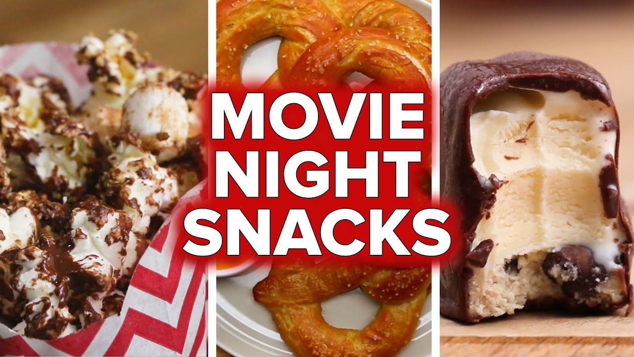 Movie Night Snacks Tasty Youtube