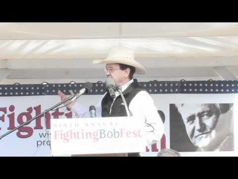 Fighting Bob Fest — Jim Hightower 9/11/2010 Pt 1