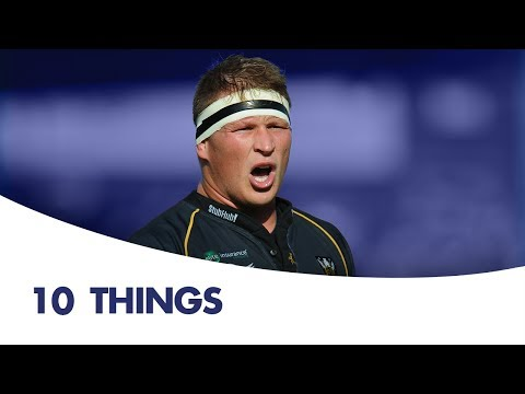 10 things you didn't know about Dylan Hartley