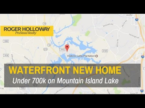 Waterfront Home for Sale in Charlotte NC under $700,000