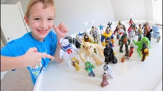 Father & Son ULTIMATE TOY BATTLE! / Bad Guys VS Good Guys!
