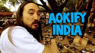 AOKIFY INDIA (New Delhi ✈ Mumbai ✈ Bangalore) - On the Road w/ Steve Aoki #91