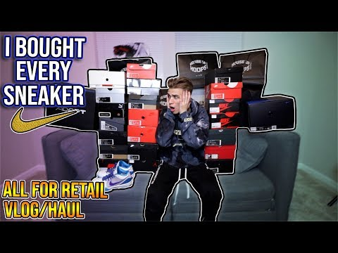 I Bought Every Sneaker at All Star Weekend (25 pairs, $5000 Spent)