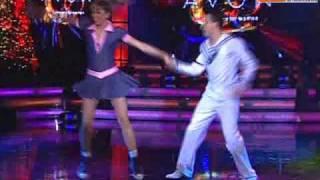 Baile Rock 'n Roll: Anna Carina y Carlos Suárez (Reyes del Show 28-11-09)