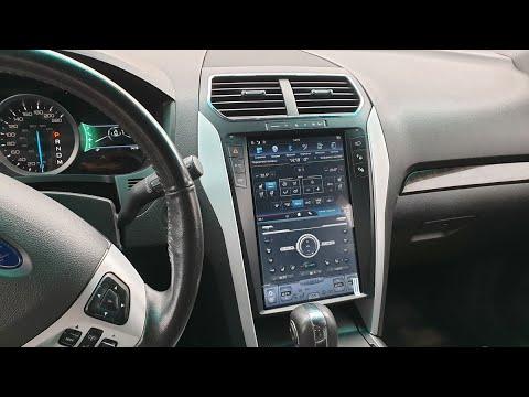 Магнитола в стиле Тесла для Ford Explorer