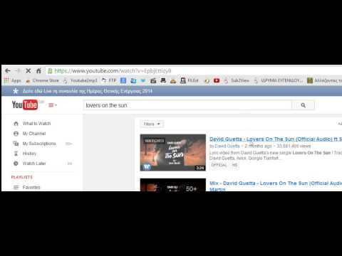 1-click YouTube to mp3 Downloader - Overview