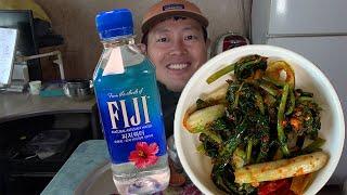 물밥먹방) ASMR MUKBANG 피지워터와 열무김치 …