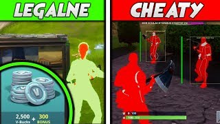 LEGAL CHEATS IN FORTNITE BATTLE ROYALE! FREE VDOLCE SCAM!!