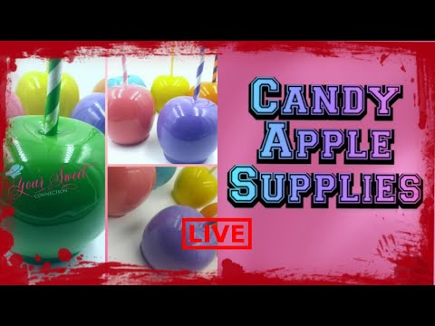 CANDY APPLE SUPPLIES
