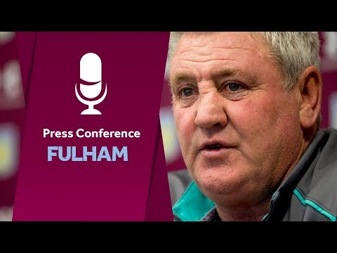 Press Conference: Fulham away