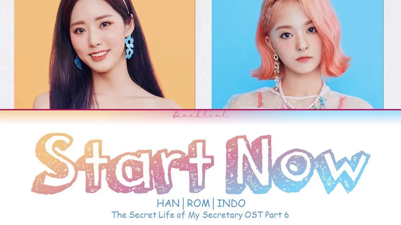 Download [The Secret Life of My Secretary OST] Park Jiwon & Lee Nagyung - Start Now (HAN/ROM/INDO Lyrics/가사)