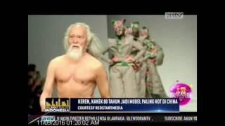 Keren , <b>Kakek</b> Umur 80 Tahun Jadi Model Paling <b>Hot</b> di China