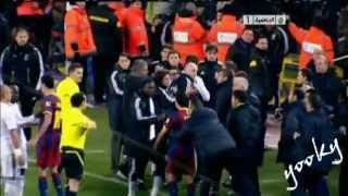 Вот почему Рамос ударил Месси в класико.....(Реал никогда нормально не реагировал на голы барсы, но вот и дошло до этого!, 2012-04-24T15:08:08.000Z)