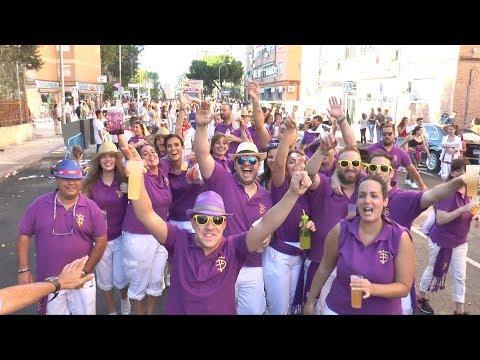Fiestas de Fuenlabrada 2017 - Desfile de Peñas