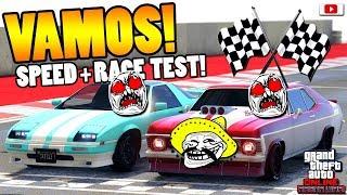 🤣🏁ER Hat Uns ZERSTÖRT! VAMOS Speed + Race Test!🤣🏁[GTA 5 Online Arena War Update DLC]