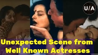 Top 10 Unexpected Scene from well Known Bollywood Actresses