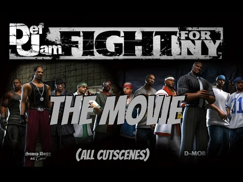 Def Jam Fight For NY - The Movie ( All Cut Scenes)