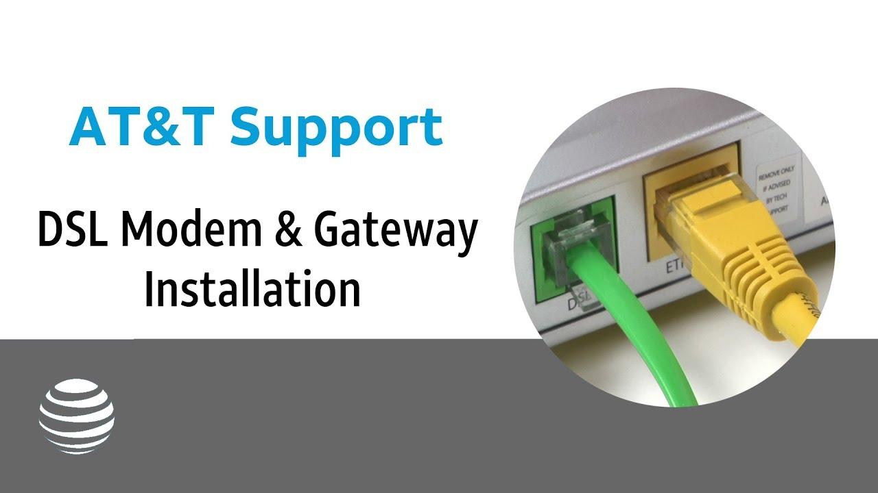 hight resolution of at t dsl modem gateway installation at t