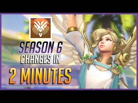 Overwatch - ALL SEASON 6 CHANGES IN 2 MINUTES