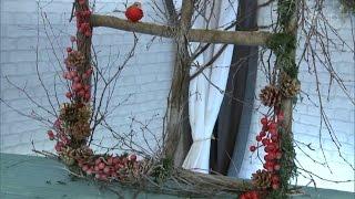 Декоративное окошко. Фазенда. Фрагмент выпуска от 13.12. 2015
