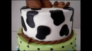 Baby Shower Cowboy Cake
