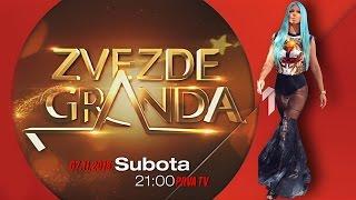 JELENA KARLEUSA // najava: Zvezde Granda / PRVA 07.11.2015