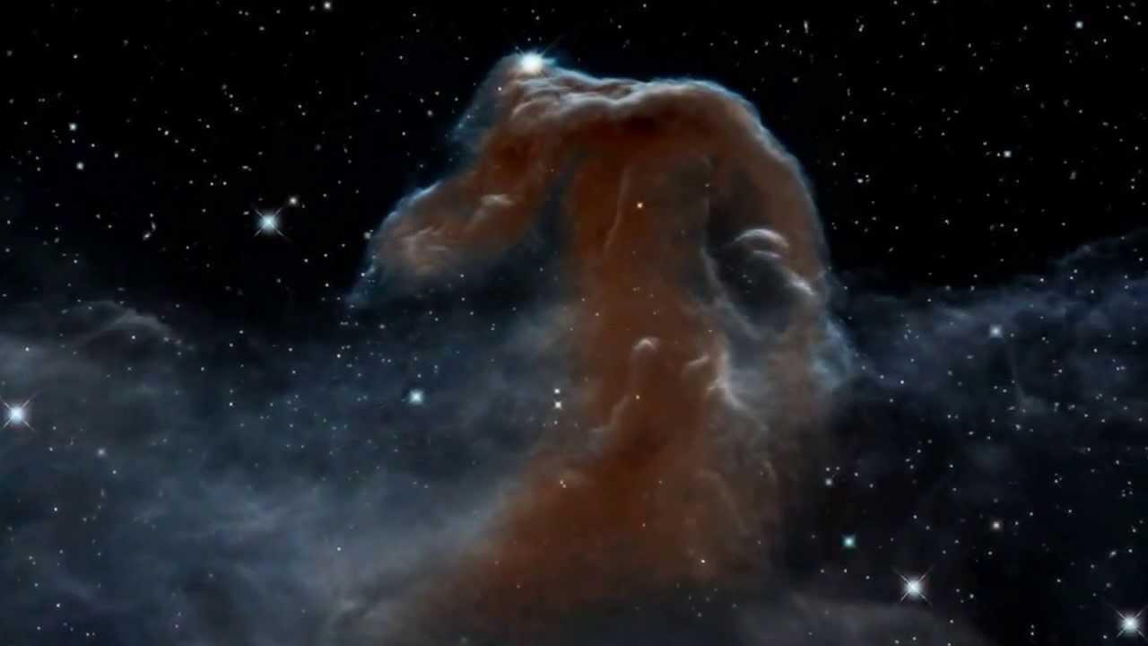 Путешествие к туманности Конская Голова с 3D визуализацией