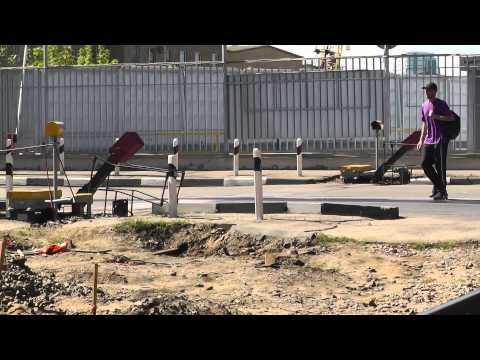 Замена устройств заграждения железнодорожного переезда