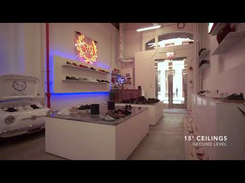 104 Greene Street • Video Preview For Redeveloped Luxury Retail • Retail For Lease
