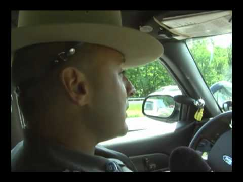 New York State Police enforcement of cell phone driving law