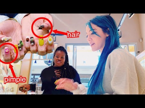 Pranking People in Public with Disturbing Nails