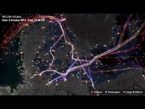 The Next Big Spill (The Baltic Sea Traffic Visualized)
