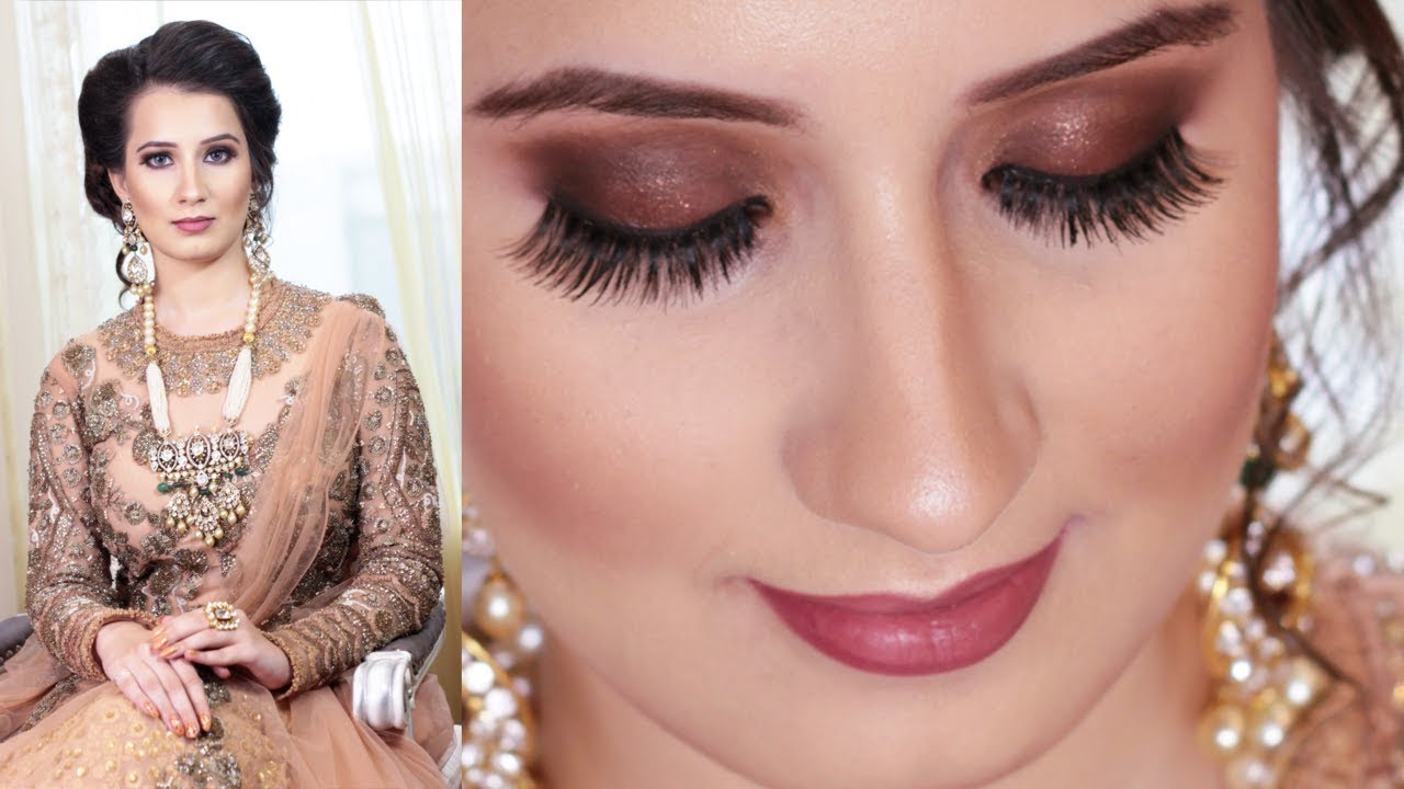 Stardust Brown Engagement Makeup - September 2017 - Indian Makeup ...