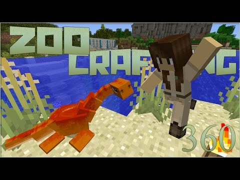 Cove of Baby Plesiosaur!! 🐘 Zoo Crafting Special! Episode #360 [Zoocast]