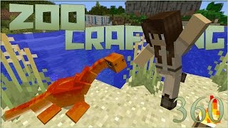 Zoo Crafting Special! Cove of Baby Plesiosaur!! - Episode #360 [Zoocast]