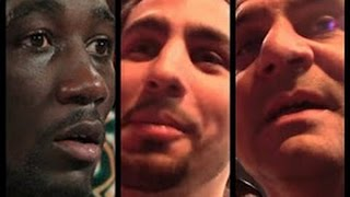 DANNY GARCIA TERENCE CRAWFORD BEEF SPILLS INTO THE STREETS; BUD CALLS ANGEL GARCIA A DRUNK METH HEAD