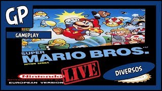 Gameplay: Super Mario Bros SNES até zera