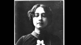 Harriet Bosse läser ur Ett drömspel av August Strindberg, 1947