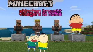 Shinchan brought villagers to home | jagrit goswami | by xyz gamxr
