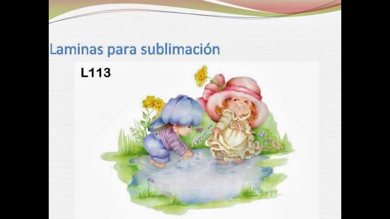 Adriana dadamo laminas para sublimacion youtube - Laminas decorativas para pared ...