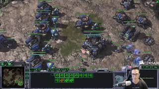 Special snipes me on the ladder - TvP epic macro game