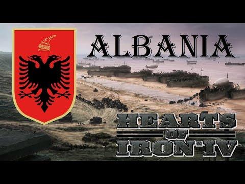 Hearts of Iron IV Albania Ironman 32