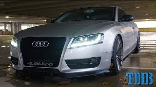 Turbocharged 300hp Audi A5 Review! - Just As Good As The Audi S5?