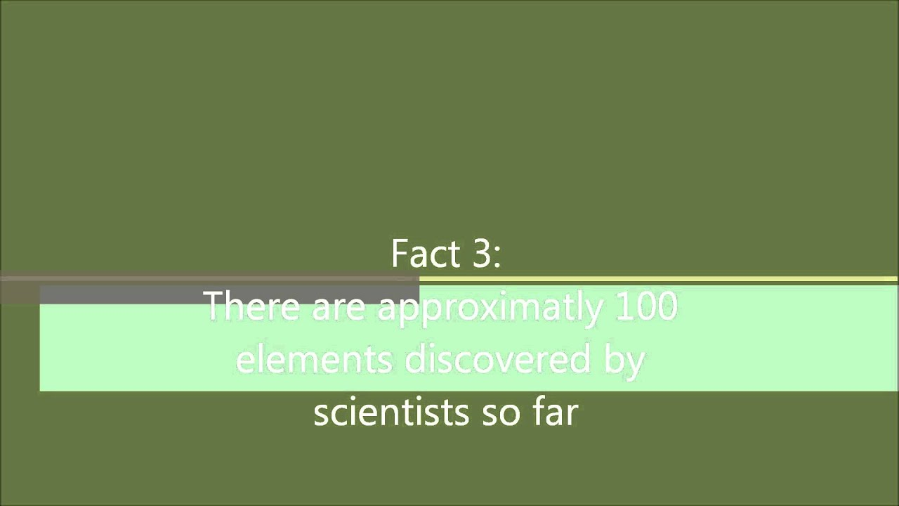10 facts about the periodic table youtube 10 facts about the periodic table gamestrikefo Gallery