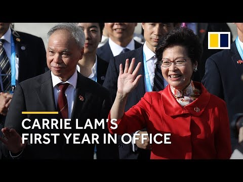 Hong Kong: Chief Executive Carrie Lam's first year in office