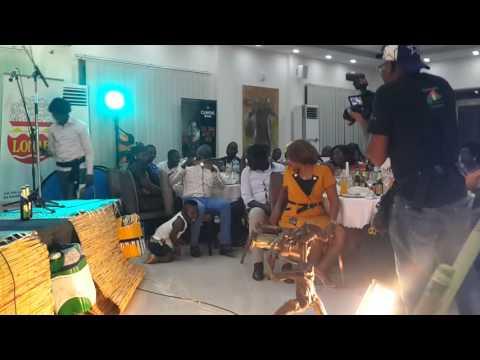 Moutchi au FIRHO 2016 à Ouaga avec Augusta Palenfo