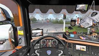 ETS2 V1 32 Scania RJL Tuning V8 Sound Interior Skin EAGLE Edition