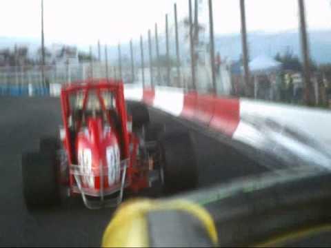 Carl Marcum In-car Pepsi Sprints Meridian Speedway...