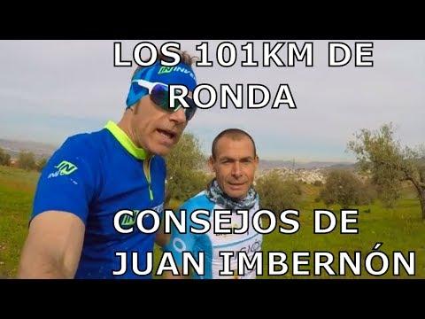 LOS 101km DE RONDA,  CONSEJOS DE JUAN IMBERNÓN